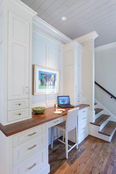 Counter height kitchen desk