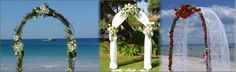 Thrifty Girl Weddings: The classic wedding arch