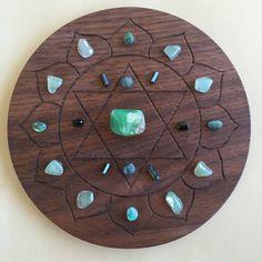 °4th Heart Chakra Crystal Grid