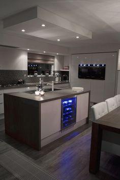 Kitchen Room Design, Luxury Kitchen Design, Dream Home Design, Home Decor Kitchen, Modern House Design, Interior Design Kitchen, Dream House Interior, Luxury Homes Dream Houses, Küchen Design