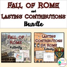 Geography of Rome Digital Activity {Google Drive} | Digital form ...