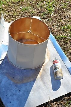 painting inside lamp shade - Google Search