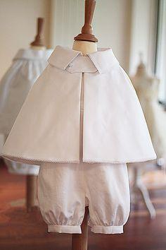 Tétine sac à taufkleid coton blanc