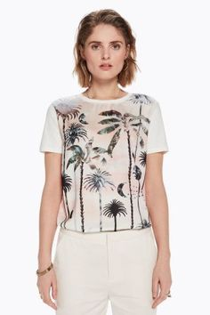 Buy Women's Tshirts online in India. Tree Graphic, Scotch Soda, Tshirts Online, T Shirts For Women, Tees, Stuff To Buy, Shopping, Collection, Maison Scotch