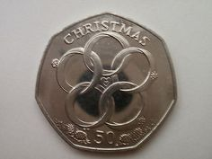 2009 isle of man 50p #christmas coin ( five gold #rings) bunc, View more on the LINK: http://www.zeppy.io/product/gb/2/361632565121/