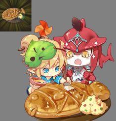 TLoZ: BoTW;  Link & Prince Sidon ❤ Cooking