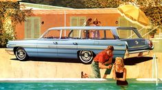 1962 Pontiac Bonneville Safari | Fitz and Van