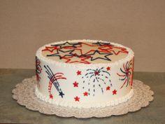 firework cakes | Fireworks Cake