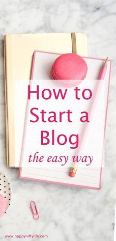 How to start a profitable blog in 4 easy steps | best blogging tips | make money online