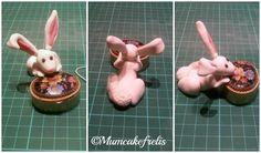 Handamde Easter: Coniglietto pasquale in pasta di zucchero