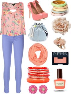 """April"" by alexia-petrachuk ❤ liked on Polyvore"