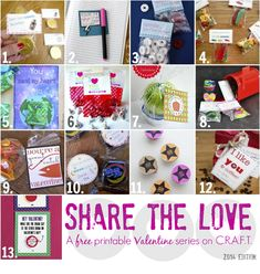 Share the Love: Valentine's Ideas - The Cards We Drew