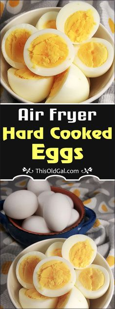 Air Fryer Hard Cooked Eggs sounds ridiculous, but is such a simple recipe method and there is no babysitting. Plus, it actually works and works well. fryer recipes easy breakfast Air Fryer Hard Cooked Eggs works and works well. Air Fryer Recipes Eggs, Air Fryer Recipes Low Carb, Air Frier Recipes, Air Fryer Recipes Breakfast, Air Fryer Dinner Recipes, Air Fryer Recipes Weight Watchers, Power Air Fryer Recipes, Airfryer Breakfast Recipes, Air Fryer Recipes Chicken Wings