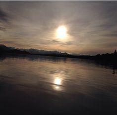 #lake #sun #sky #VillaLaAngostura #forest #mountain #sunset #sunrise #winter #argentine #argentina #lago #sol #cielo #clouds #nubes #montañas #bosque #invierno #atardecer #amanecer