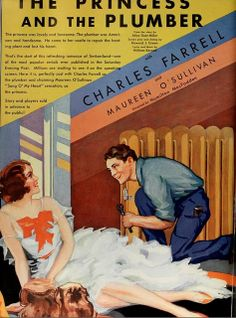 Vintage Film Advert for The Princess and the Plumber 1930 | Flickr - Photo Sharing!