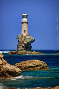 #Lighthouse Tourlitis by Antonis Lemonakis - Photo 149594069 - 500px http://dennisharper.lnf.com/
