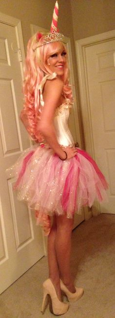 My little pony- pink unicorn costume DIY (ideas/inspiration for a child)