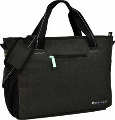Sherpani Priya Laptop Tote Bag Heathered Black - via eBags.com!