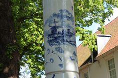 https://flic.kr/p/mUxTkK   Delft centrum   Delft, Prinsenhof detail straatverlichting Delfsblauw