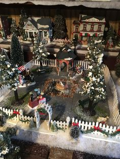 Awesome DIY Christmas Decorations on a Budget - Christmas Village Display decor, Awesome DIY Christmas Decorations on a Budget - Christmas Village Display Diy Christmas Village Displays, Christmas Tree Village, Christmas Town, Christmas On A Budget, Christmas Villages, Christmas Nativity, Christmas Holidays, Merry Christmas, Christmas Crafts