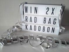 Win! 2x € 40,- shoptegoed voor originele cadeaus bij Radbag