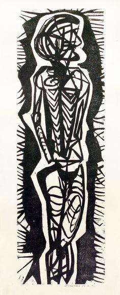 cecil skotnes Dark Images, South African Artists, Outsider Art, Native Art, Brutalist, Gravure, All Art, Printmaking, Monochrome