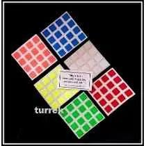 Adesivo Para Cubo Cores Vibrantes 4x4 60 A 64mm Padrão Moyu