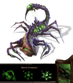 Zerg Bane Creeper by ~Phill-Art on deviantART