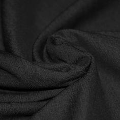 Tissu Demin Noir Stretch