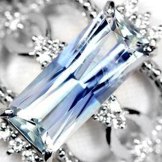 ジェレメジェバイト(エレメーエファイト)2.1ctダイヤモンドプラチナリング(指輪) Jeremejevite  http://www.rejou.jp/?pid=97795871