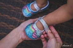 An online storefront selling sparkly baby shoes handmade from Thailand. Our shoe desgins are festive and seasonal! Aquamarine Crystal, Crystal Rose, Baby Shower Presents, Baby Shower Gifts, Baby Bling, Rhinestone Shoes, Light Rose, Baby Keepsake, Rainbow Heart