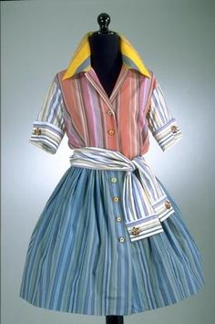 Dress, Todd Oldham, 1994, spring collection