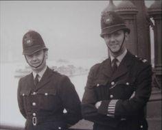 1950's/60's Metropolitan Police Officers, Westminster Bridge, London, SW1, UK | Flickr - Photo Sharing!