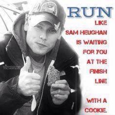I could definitely run for that!