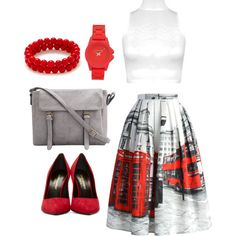 #1 by psymona on Polyvore featuring polyvore fashion style WearAll Chicwish Yves Saint Laurent Vince Camuto