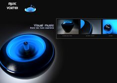 Music Vortex – Water Speaker by Eric Zheng | Yanko Design