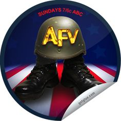 Stteffie Dolls Americas Funniest Home Videos: AFV Presents a Salute to the Military Sticker Military Stickers, America's Funniest Home Videos, America Funny, Presents, Dolls, Gifts, Baby Dolls, Puppet, Doll