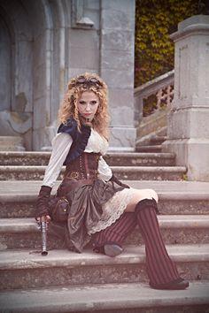 amazing steampunk girl The Ory Photoart