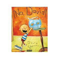 """This text is short, but there is so much you can do with it. We love it for modeling inferences, author's message, character changes, conflict, connections, and fluency. As soon as you open to the title page and see the mom's hands on her hips, you know what she is thinking, feeling and what she is about to do! We can hear how the mom is saying, """"No David!"""""""