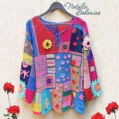 """82 Likes, 2 Comments - WOW Crochet Top Dress Bikini (@crochet_clothes) on Instagram: """"Большинству из вас, я думаю, неизвестно, что все наши вязаные вещи мы творим совместно с мамой,…"""""""