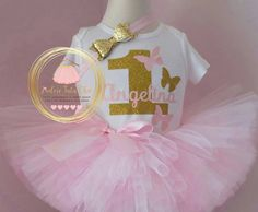 Check out this item in my Etsy shop https://www.etsy.com/ca/listing/253035791/butterfly-birthday-outfit-pink-and-gold