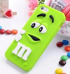 M&M iPhone 4/4S Silikone Cover (Lilla)