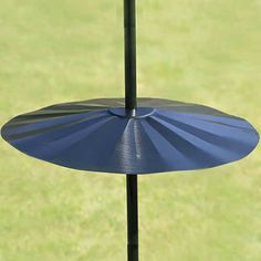 Erva Wraparound Pole Mount Disk Baffle Black