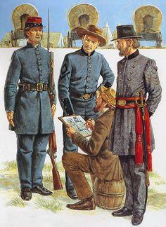 """""""Georgia Volunteers, 1861-63: • Burke Volunteers • Webster Confederate Guards • 10th Georgia Battalion"""", Richard Hook"""