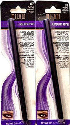 Pack of 2Milani Liquid Eye LiquidLike Eyeliner Purple * Want additional info? Click on the image.