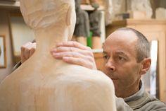 Realistic wood sculpture - Italian sculptor Bruno Walpoth