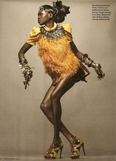 African-Inspired Designs. 61 Multicultural Fashions - From to Tribal and Safari Patterns to Ethnic Prints