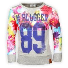 Vingino Sweater voor Hippe Meisjes Zomer 2015 Ophira Grey Mele