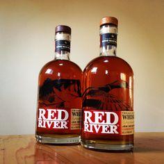 Design for Red River Texas Bourbon Whiskey b Ben Jenkins