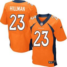 Ronnie Hillman Elite Jersey-80%OFF Nike Ronnie Hillman Elite Jersey at Broncos Shop. (Elite Nike Men's Ronnie Hillman Orange Jersey) Denver Broncos Home #21 NFL Easy Returns.